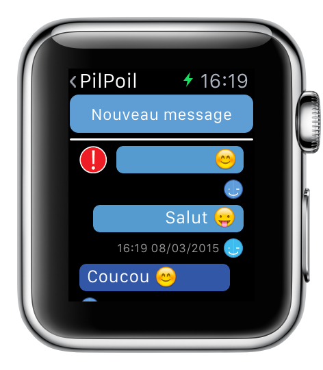 Image support Apple Watch 3 - eyeFree