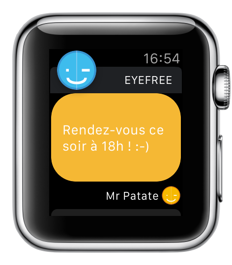 Image support Apple Watch 5 - eyeFree
