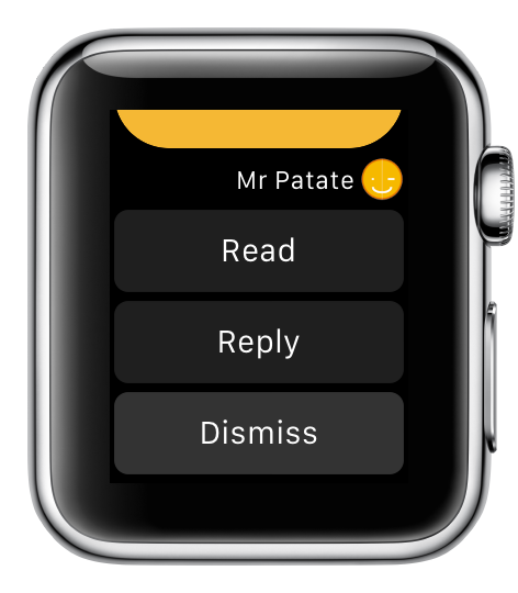 Support image Apple Watch 6 - eyeFree