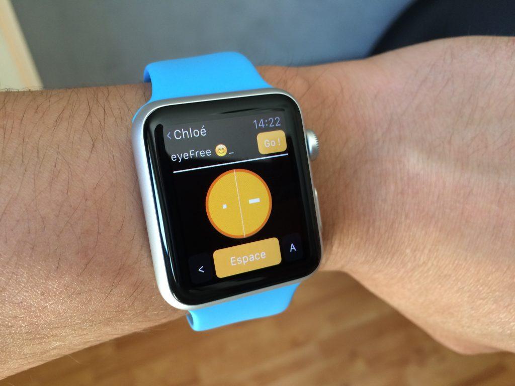 eyeFree Messenger   Apple Watch